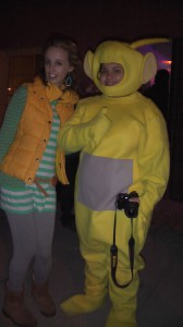 Just some standard random characters at First Fridays:)