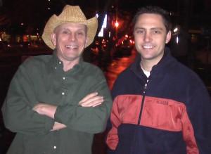 David(left)!
