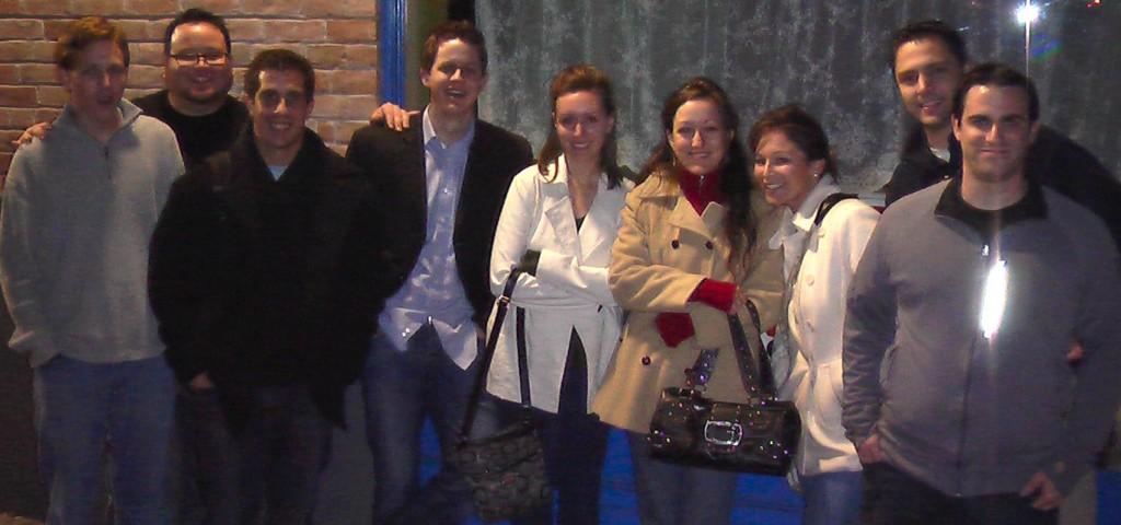 Evangie Crew! From Left: Marcus, Scotty, Phil, Jon, Rachel, Christina, Mia, David, Walter