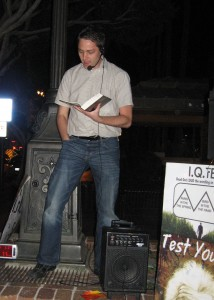 David Barr reading from 1 Peter