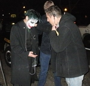 """Marcus and Phil pray for """"the joker."""""""
