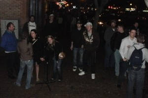 Close out shot of the crowd before the night wrapped up.